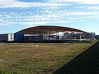 Строительство ангаров и накрытий площадок