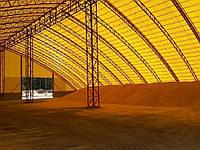 Строительство ангаров для хранения зерна