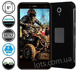 Противоударный Смартфон Nomi i5071 Iron-X1 Black 2/16Gb