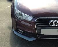 Накладки на передний бампер Audi A122117