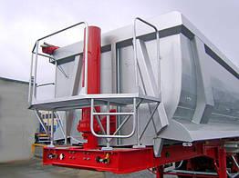 Полуприцеп самосвальный стальной карьерный BODEX KIS 3WS2 HP 35 м³