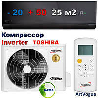 Инверторный кондиционер, Neoclima, ArtVogue, NS/NU-09AHVIwb (графит)