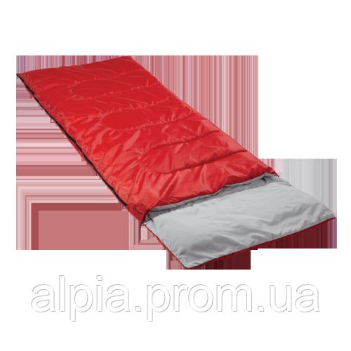 Спальный мешок Кемпинг Rest с подушкой красный