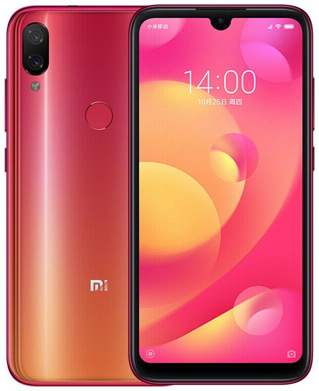 "Xiaomi Mi Play Twilight Gold 4/64 Gb, 5.84"", Helio P35, 3G, 4G (Global)"