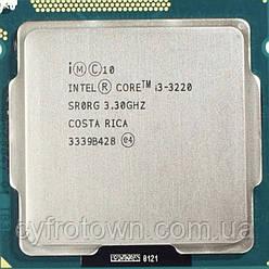 Процесор Intel Core i3 3220 Ivy bridge s1155 2(4)x3.3GHz 3mb cache