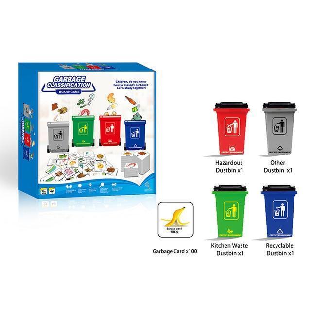Настольная игра Классификация мусора, Garbage Classification