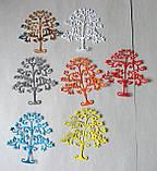 Ніж для вирубки з паперу та картону. Дерево, 70х75 мм, фото 2
