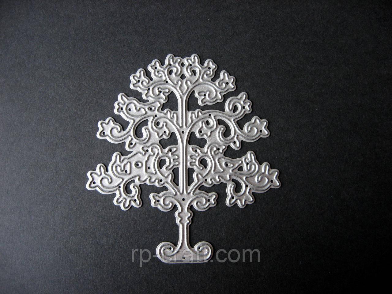 Ніж для вирубки з паперу та картону. Дерево, 70х75 мм