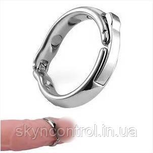 Эрекционное кольцо металл alloy magnetic cockring, фото 2