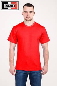 Однотонная футболка ХБ LYON