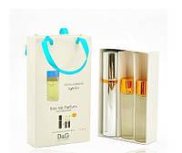 Женский мини парфюм Dolce & Gabbana Light Blue (Дольче Габбана Лайт Блю) 3*15 мл