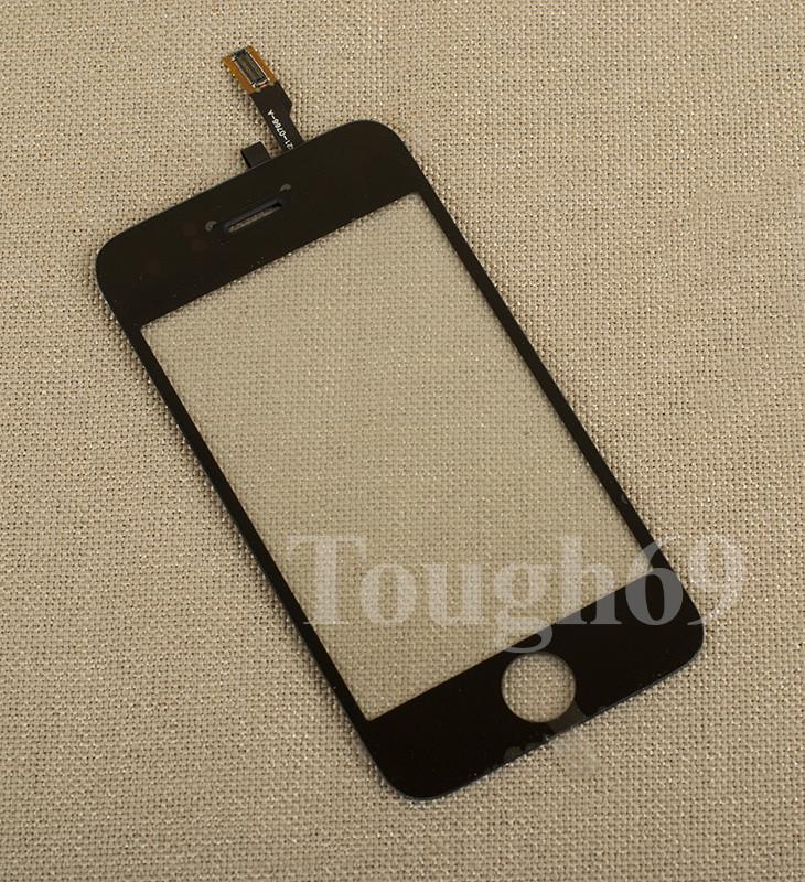 Тачскрин touchscreen (Сенсор) iPhone 3g черный.