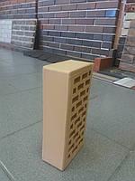 Желто-соломенный облицовочный кирпич СБК, фото 1