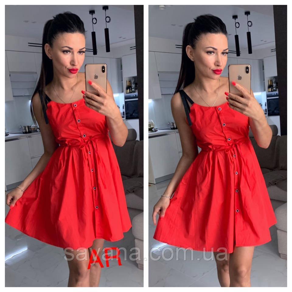 Женское платье-сарафан в расцветках. АР-24-0519