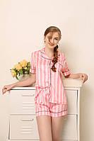 Шелковая пижама от Victoria`s Secret, шорты и рубашка