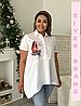 Сорочка-туніка в різних кольорах, з 48-82 розмір