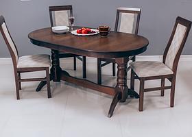 Кухонный стол ГОСТИННЫЙ 120х80+40