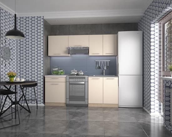Кухня Marija 200(ваниль-сонома)  (Halmar)