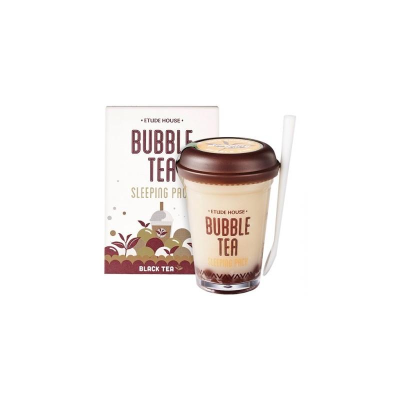 Нічна маска для обличчя Etude House Bubble Sleeping Pack Black Tea 100 гр