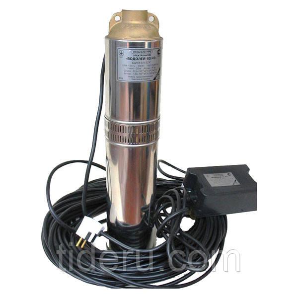 Свердловинний насос Водолій БЦПЕ 0,5-63У (40 м кабелю)