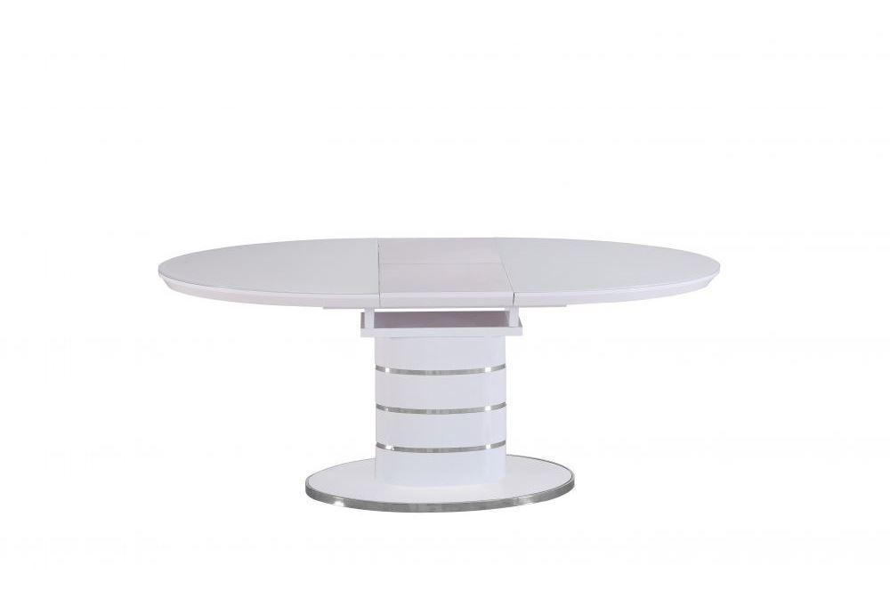 Раздвижной стол Utah DT113 white (Юта белый) 140/180