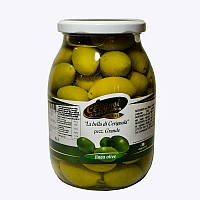 "Оливки зеленые ""Bella di Cerignola"" 3G гигантские La Cerignola 950г"