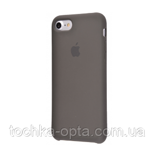 pretty nice dcc69 1fe1c Силиконовый чехол Original Silicone Case — Apple iPhone 7 ; iPhone 8 — Dark  Olive