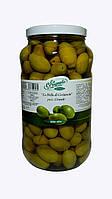 """Оливки зеленые """"Bella di Cerignola"""" 3G гигантские La Cerignola 2,9кг"""