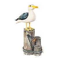 Фігурка чайки на колодах, фото 1