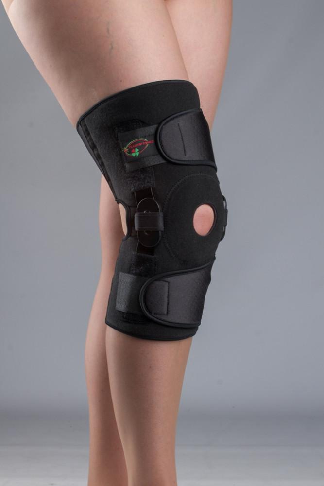 Бандаж с полицентрическими шарнирами коленного сустава К-1ПШ