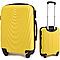 Чемодан Wings 305 пластиковый Мини (XS) Желтый, фото 5