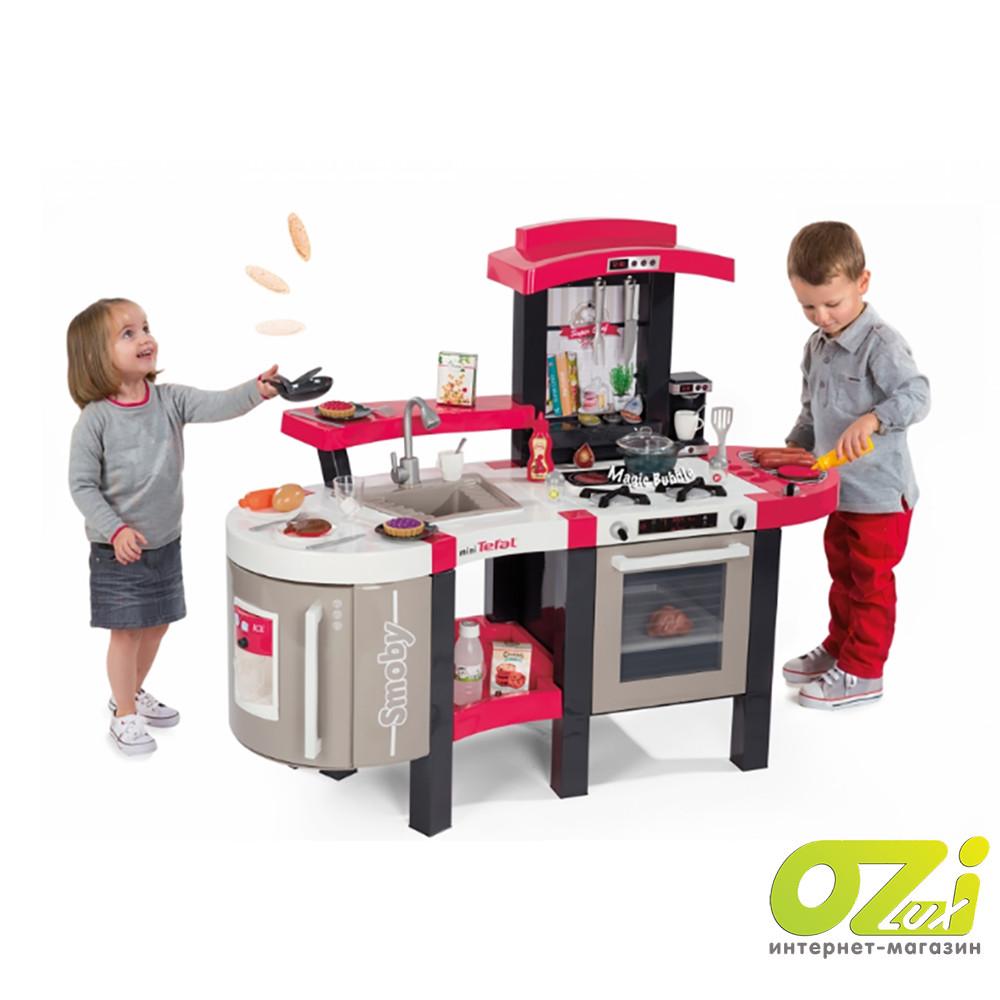 Интерактивная детская кухня Tefal Super Chef Deluxe Smoby 311304 94 см