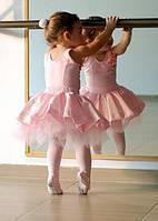 Колготы для танцев персик 2070