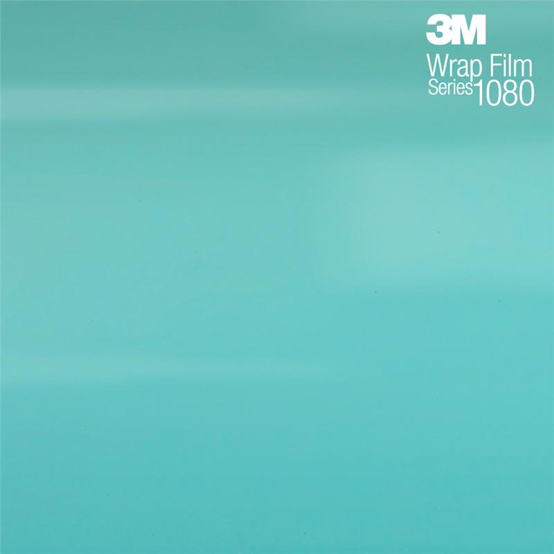 3M 1080 SatinKey WestS57 Сатиновая ментоловая пленка 1.524 м
