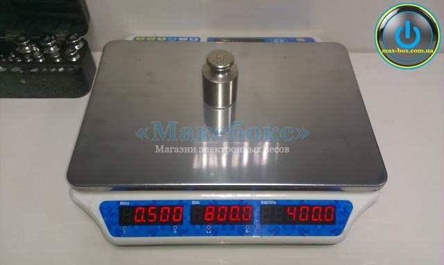 Торговые весы ВагарVP-MN15 LCD без стойки