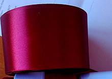 Лента атласная. Ширина 5 см.Цвет темно бордовый