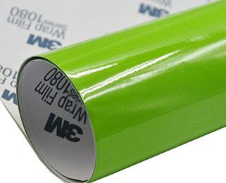 3M 1080 GlossLight Green G3044 Глянцевая светло-зеленая пленка 1.524 м