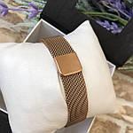Женские наручные часы золото с розовым циферблатом, фото 3