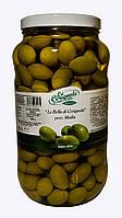 """Оливки зеленые """"Bella di Cerignola"""" 2G гигантские La Cerignola 2,9кг"""
