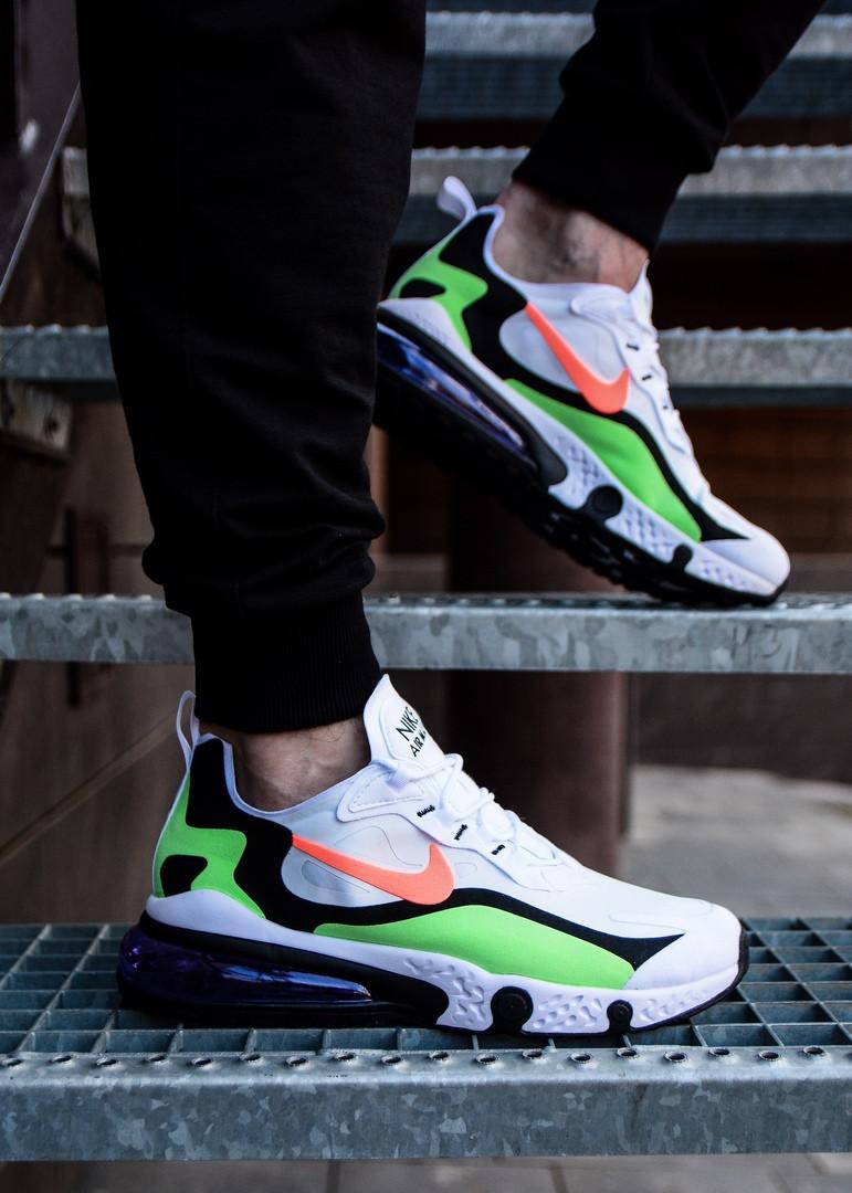 Кроссовки мужские Nike Air Max летние разноцветные модные стильные найки  из текстиля на шнуровке, ТОП-реплика
