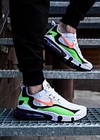 Кроссовки мужские Nike Air Max летние разноцветные модные стильные найки  из текстиля на шнуровке, ТОП-реплика, фото 1