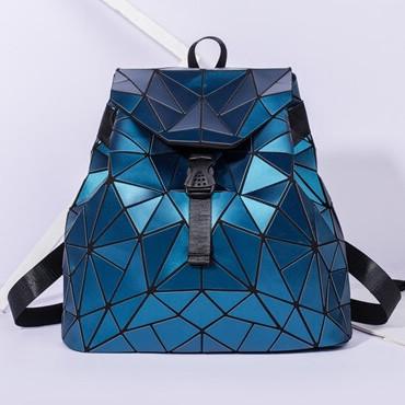 Стильный женский рюкзак с клапаном геометрический Бао Бао Алмаз, Bao Bao Issey Miyake 3008