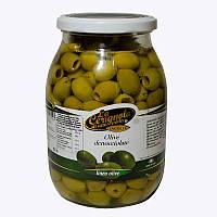 Оливки зеленые без косточки La Cerignola 950г