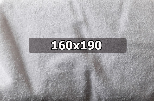 """Водонепроницаемый махровый наматрасник """"Люкс"""" - 160х190"""