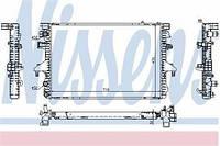 Радиатор охлаждения VW T5 1,9 TDI 03- Nissens 65282A