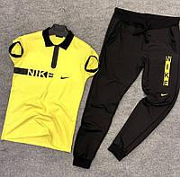 Стильный летний мужской комплект Найк | Мужской спортивный костюм на лето Найк, фото 1