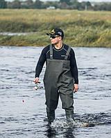 Полукомбинезон рыбацкий  Nordman 15 (сапоги,заброды рыбацкие) Оригинал, материал