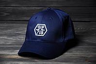 Кепка Бейсболка Philipp Plein летняя шестиклинка стильная синяя