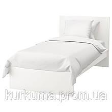 IKEA MALM Кровать высокая, белый, Лурой  (990.095.58)