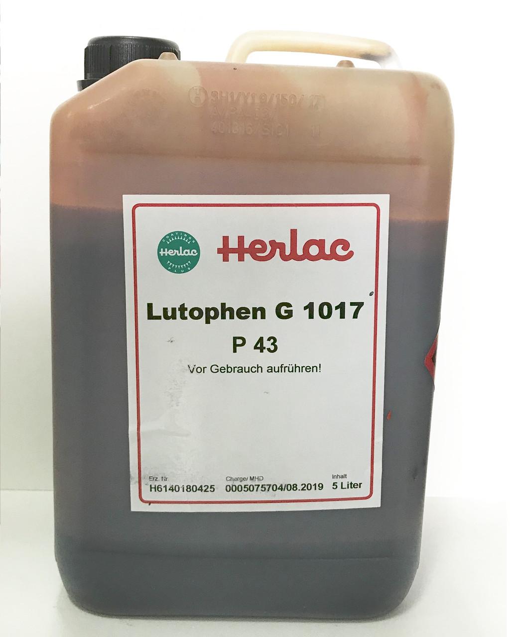 Нітролазурь Herlac Лютофен Р-43 5л Дуб